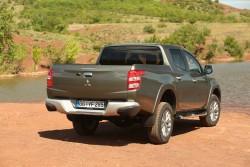 Denne bagdel af den nye Mitsubishi L200, ser ud til at være enden på den ægte Mitsubishi pick-up efter Nissans opkøb af aktier.