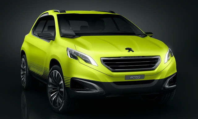 Årets første nye Peugeot er en face-liftet udgave af Peugeot 2008.