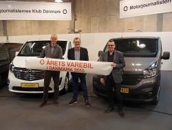 Opel Vivaro og Renault Trafic kan blive de sidste vindere af titlen Årets Varebil i Danmark. Kåringen anno 2016 er aflyst fordi antallet af kvalificerede jurymedlemmer er for lille, og antallet af nye varebiler er stærkt begrænset.
