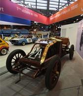 Renaults første Grand Prix vinder er 110 år gammel, og en af attraktionerne på en retro-biludstilling i Paris, som afholdes i disse dage
