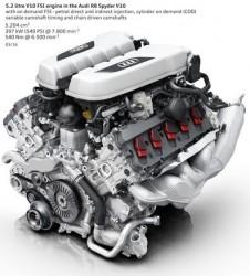 5.2 liter V10 er en kendt størrelse i VW koncernen. Og lyden.....