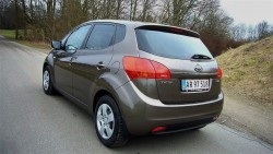 Bagpartiet på Venga lover præcis det bilen giver som sin klart største kvalitet. Masser af plads og rigtig god funktion.