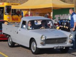 Legendariske Peugeot 404 kunne også fås som ladbil.