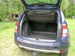 Særdeles brugbart bagagerum med plads til det meste.