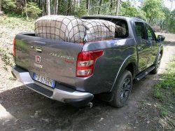 Fiat Fullback hører naturligt hjemme i 1-ton klassen, men det er ikke nyttelast til 1000 kg på ladet, mens den størst tilladte trailer er på 3100 kg.