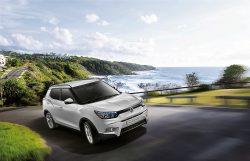 SsangYong LUVi eller Tivoli er mærkets mindste, og spydspids for hele modelprogrammet. Priserne for den lille SUV-type starter ved 200.000 kr