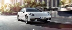 4-dørs Porsche og så kan den også køre som ren el-bil. Rækekvidden som el-bil er 40 km mener Porsche, men den hopper vi ikke på før vi har efterprøvet den tyske påstand.