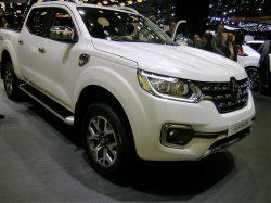 Renault Alaskan, som er en Renaultudgave af noget Nissan, vises for første gang i Europa.