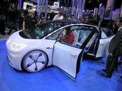 VW I.D. er fremtidsmusik. Bilen kommer som el-bil i 2020 og som førerløs bil i 2025.