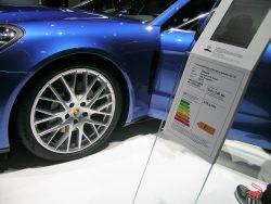 CO-2 regnskabet for en Panamera med dieselmotor er ikke så værst med 178g/km