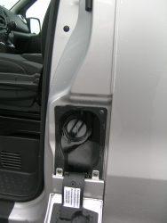 Test af dansk Fiat Talento i slutningen september. Intet blåt dæksel til påfyldning af AdBlue. Bilen er en Euro5.