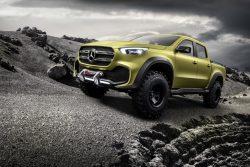 Den barske udgave af næste års nye Mercedes X-klasse, som placerer sig selv som pick-up klassens top på kransekagen.