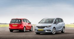 Opel Zafira har netop fået et mindre face-lift, og samtidig er bilen typegodkendt som dansk varebil. Når Zafira skifter farve på nummerpladerne, skifter navnet også fra Zafira til Flexivan.