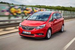 Zafira har også fået en let opfriskning. Mere er ikke nødvendigt mener Opel, og måske har de ret.