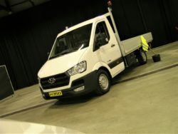 Hyundai har allieret sig med Danlad, som kan lave enhver form for opbygning på H350 som chassis.