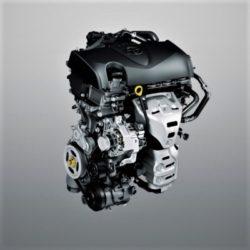 Den nye basismotor til Yaris. 4-cylindret og med 1,5 liters volumen. Stor tak til Toyota.
