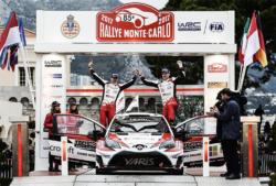 Flyvende start for en helt nye rallyebil. Yaris WRC blev nummer to og 16 i årets Rallye Monte Carlo, kun overgået af Ford Fiesta.