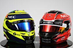 Det mest personlige af alt udstyr, racerkørerens hjelm, skal ifølge rygter også skifte kulør til pink.